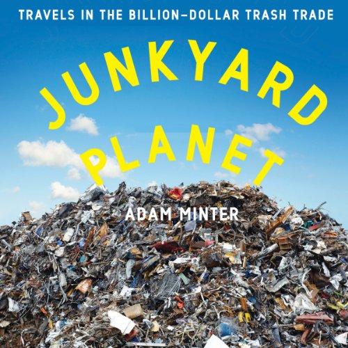 Junkyard Planet audiobook cover art
