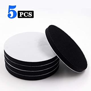 5 Inch Soft Density Interface Pads Hook and Loop 5