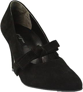 Paul verde 2320-001 - Zapatos de Vestir de Piel para Mujer Negro Negro