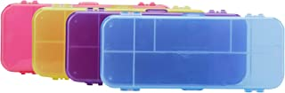 Amazon Basics Estuche, paquete de 4, multicolor