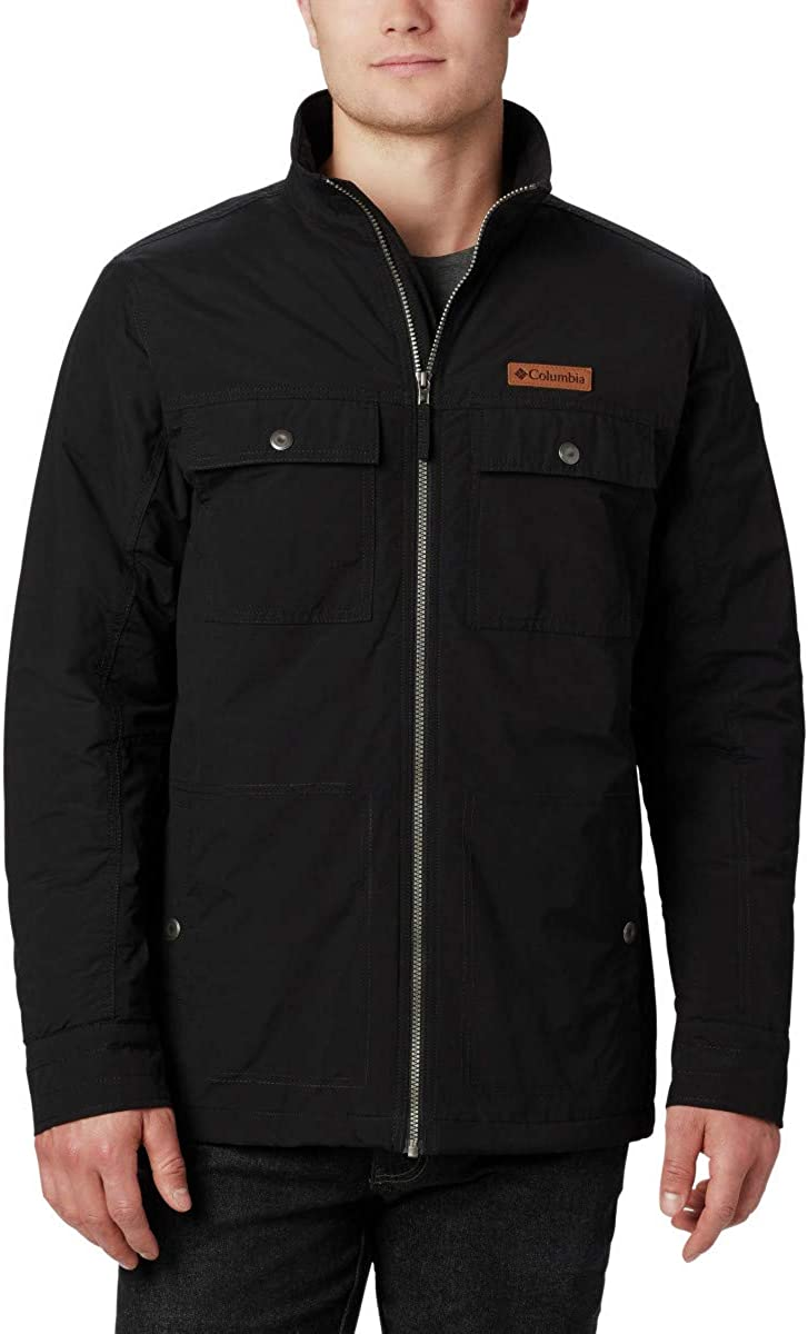 Columbia Men's Wheeler Lodge Casual Jacket, Water Resistant, Insulated
