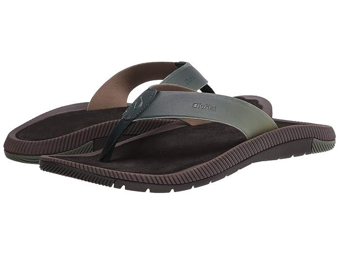 Welo  Shoes (Deep Green/Dark Wood) Men's Sandals