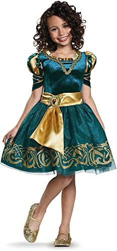 Disguise Merida Classic Disney Princess Brave Disney Pixar Costume, X-Small 3T-4T by Disguise