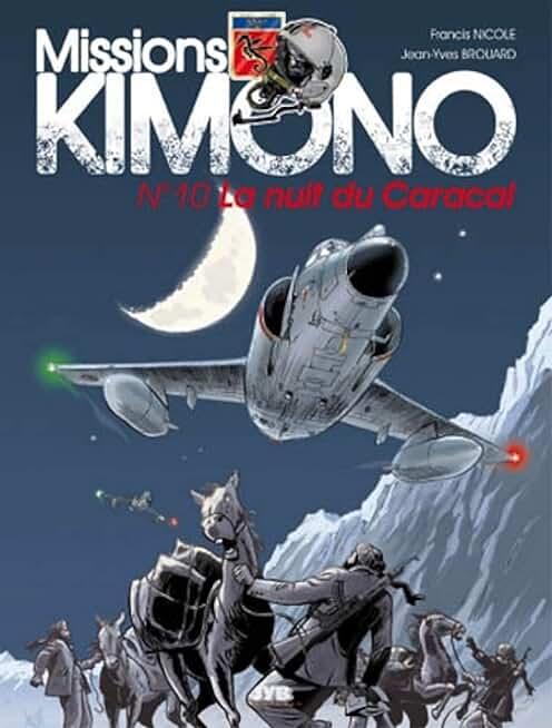 Missions Kimono, tome 10 : La nuit du Caracal