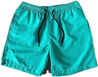 MogogoMen Swimwear Shorts Quick Drying Pockets Candy Color Bermuda Shorts