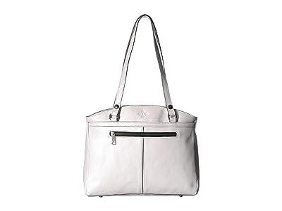 Patricia Nash Poppy Tote (White) Tote Handbags