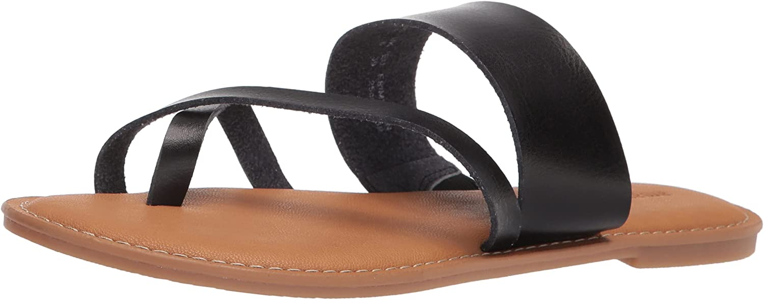 Essentials Women's One Band Flip Flop Sandal Flat : Clothing, Shoes & Jewelry