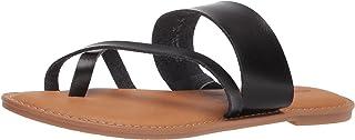 Amazon Essentials Sandales pour Femme, Sandales plates Femme