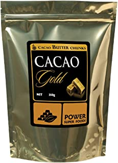 Power Superfoods Organic Cacao Gold Butter Chunks 250 g