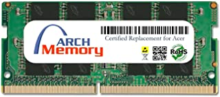 Arch メモリ認定 Acer 16GB (1 x 16 GB) 260ピン DDR4 So-dimm Aspire F 15シリーズモデルF5-573G-74NG RAM用