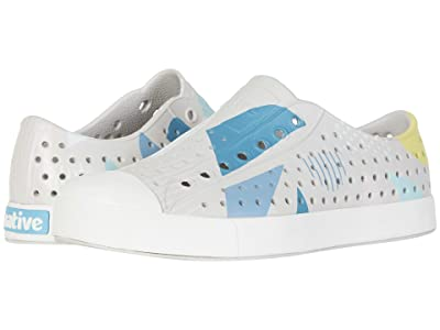 Native Shoes Jefferson Print (Tundra Grey/Shell White/Geometriskie) Athletic Shoes