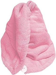Rucci Microfiber/Anti-Bacterial Quick Dry Hair Drying Head Wrap Turban Plus Facial Headband