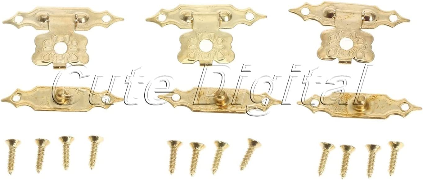 Household Furniture Hardware shopping Hinges 12 Lo Antique Pieces Max 41% OFF Of Iron