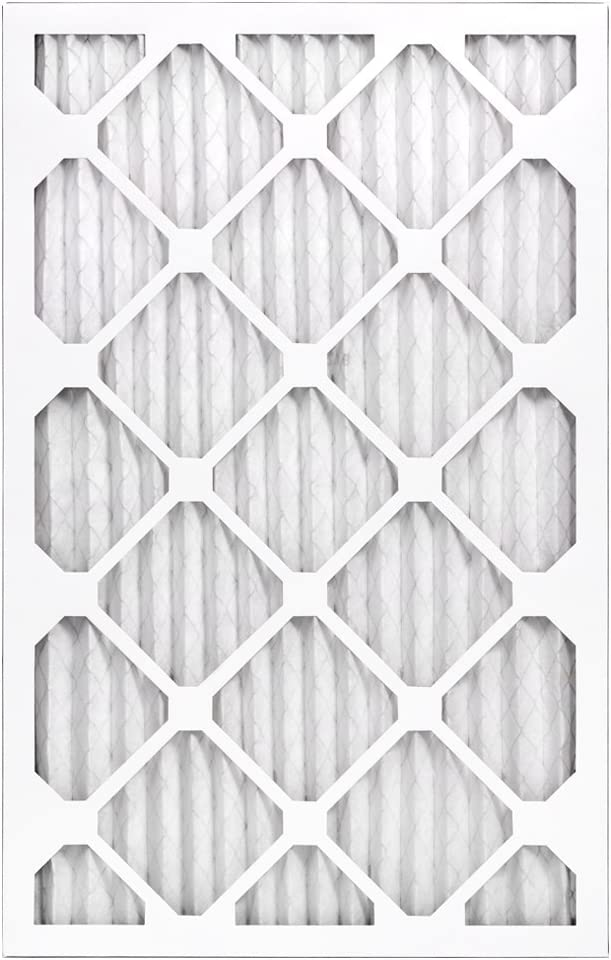 AIRx DUST 20x25x1 MERV 8 Pleated Air Filter - Made in the USA - Box of 6 - -