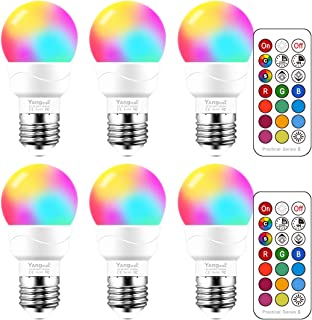 Best massimo retro led color changing light bulbs Reviews