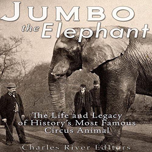 Jumbo the Elephant audiobook cover art