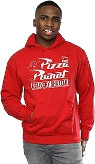 Disney hombre Toy Story Pizza Planet Logo Capucha