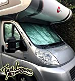 Fuel Lagoon Swift Ducato Besscarr Peugeot Boxer Motorhome Thermal Screen Silver