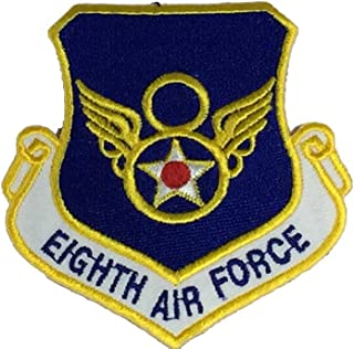 USAF EIGHTH AIR FORCE Unit Patch - Color - Veteran Owned Business