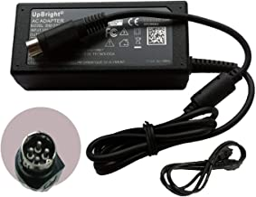UpBright 4-Pin 19V AC/DC Adapter Replacement for SATO Korea TG-5011 TG5011 TG15-5011-19V TG-501119V TG-5011-19V-ES PT/MB 400-ADP-LF ZEE321 NURI Telecom Co Ltd Tiger TH208 USB TH208USB Lead Year Power