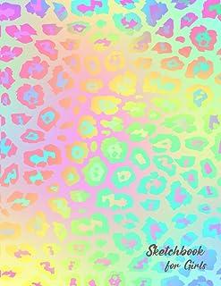 Sketchbook for Girls: Artist Pad Paper| Sketchbook Drawing Painting| Artistic Notebook| Drawing Pad Kids Large|Notepad Dra...