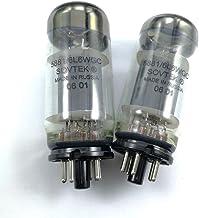 Chavis Genuine Russian SOVTEK 5881/6L6WGC electronic tube on behalf of 6L6 6P3P EL34 KT66 tube - (Color: Black)