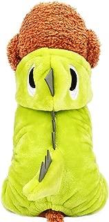 Lifeunion Unicorn Soft Fleece Pet Hoodie Costume Dress Warm Pet Pajamas Clothes Four-Leg Jumpsuit Cosplay Outfit