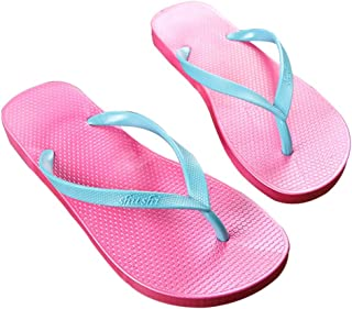 Shoes Comfortable Mens Beach Sandals Lightweight Non-Slip Unisex Room Shoes Outdoor Light for Summer Slippers Couple Ladies Fashion (Color : Pink)