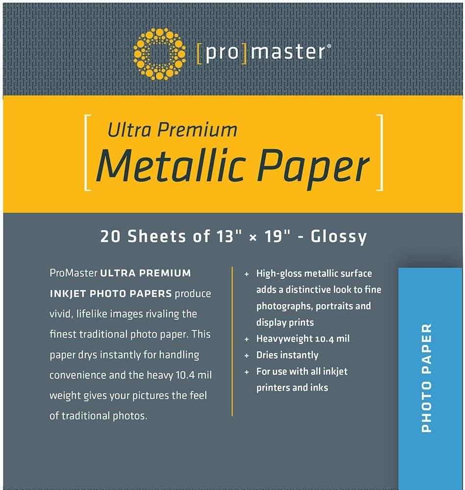ProMaster Deluxe Ultra Premium Metallic Paper 20 Great interest 13