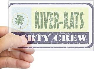 CafePress River Rat Rectangle Sticker Rectangle Bumper Sticker Car Decal
