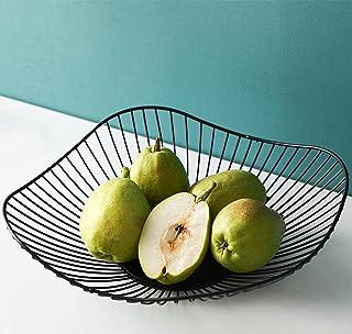 Corbeille à fruits en métal Corbeille à fruits décorative vintage Rangement de fruits pour plus de vitamines dans votre qu...