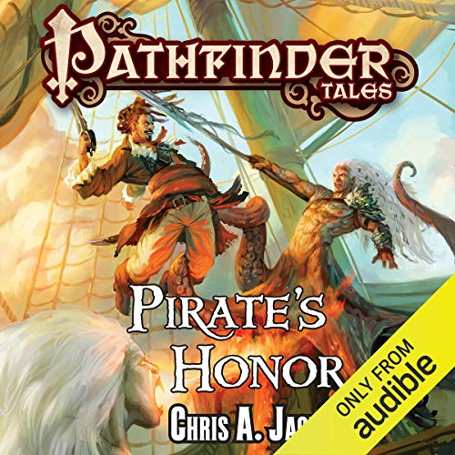 Pirate's Honor audiobook cover art