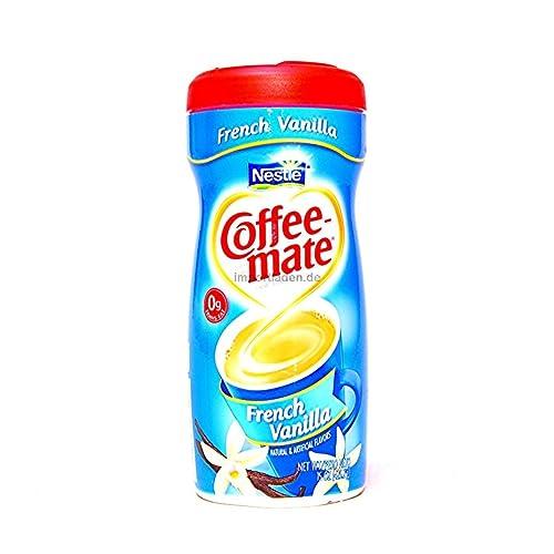 Coffee-Mate Powder Creamer, French Vanilla Flavor, 15oz.
