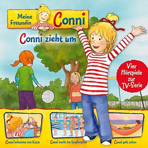 Conni zieht um / Conni bekommt eine Katze / Conni macht das Seepferdchen... Titelbild