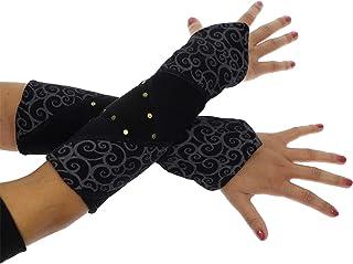 Schwarz Kurze Handgelenks Kunst Pelz Armstulpen Winter Handgelenksmanschette W/ärmer Unscharf Handgelenk Manschette f/ür Frauen M/ädchen Gef/älligkeiten