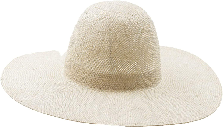 Sisal Ladies Big Hat Sun Predection Sun Visor sisal Magic Straw Hat Tourism Outdoor Sun Hat