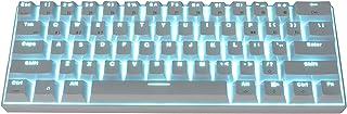 RK61 trådbundet/trådlöst Bluetooth-mekaniskt tangentbord, inbyggt ICP103450 litiumbatteri, för surfplatta, telefon