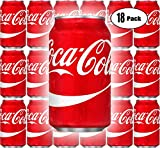 Coca-Cola, Coke Classic, Original, 12oz Cans (Pack of 18, Total of 216 oz)