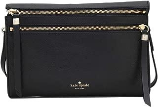 Kate Spade Social Butterfly Skyler Black Crossbody Leather Bag