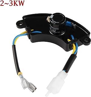 XIAOFANG Fangxia Store 1 UNID Nuevo regulador de Voltaje automático de Voltaje AVR monofásico Universal AVR Universal Voltífero 7KW-8KW regulador del generador (Color : 2KW 3KW)