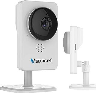 【KEIAN/恵安】 VSTARCAM 魚眼レンズ搭載180°パノラマビュー暗視モード搭載 技適認定済 有線/無線LAN対応ネットワークカメラ KVC60S