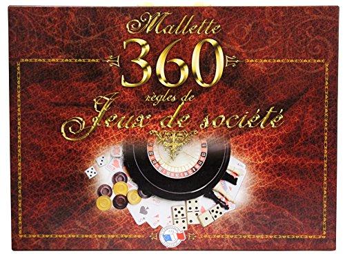 FERRIOT CRIC - 1580 - Mallette 360 jeux - - Marron