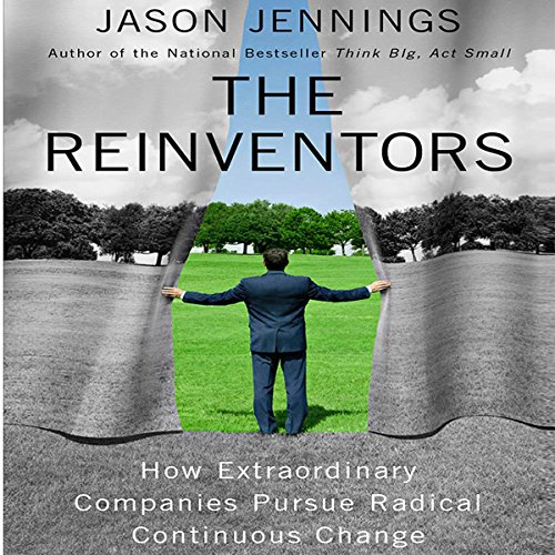 The Reinventors audiobook cover art