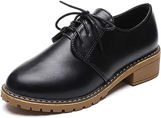 オックスフォードシューズ おじ靴 レースアップシューズ 可愛い カジュアルシューズ レディース ワークブーツ レースアップ 3ホール 走れる マニッシュ 厚底 紐 ブラック 黒 靴 韓国風 ベージュ 大きいサイズ 25.0cm ヒール 4cm