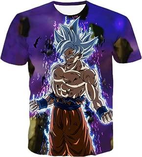 Dragon Ball Men Fashion Short Sleeve T Shirt