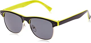 TFL Kids Wayfarer Sunglasses, 45 x 15 x 120 mm, Black/Yellow