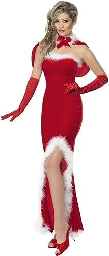 Cocktailkleid Miss Santa Kleid Kost Nikolaus Damen Gr M