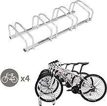 TOYEEKA 4 Bicycle Rack Adjustable Storage Parking Garage