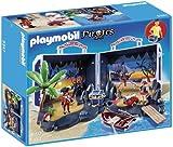 Playmobil 5347 -  Isola Del Tesoro Portatile, Multicolore