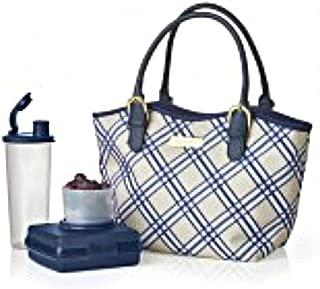 Tupperware Lunch Bag Set Posh Plaid